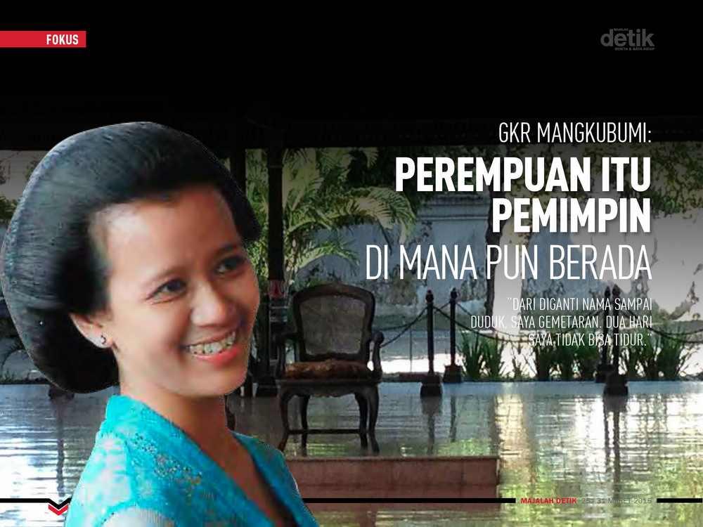 GKR Mangkubumi: Perempuan Itu Pemimpin di Mana pun Berada
