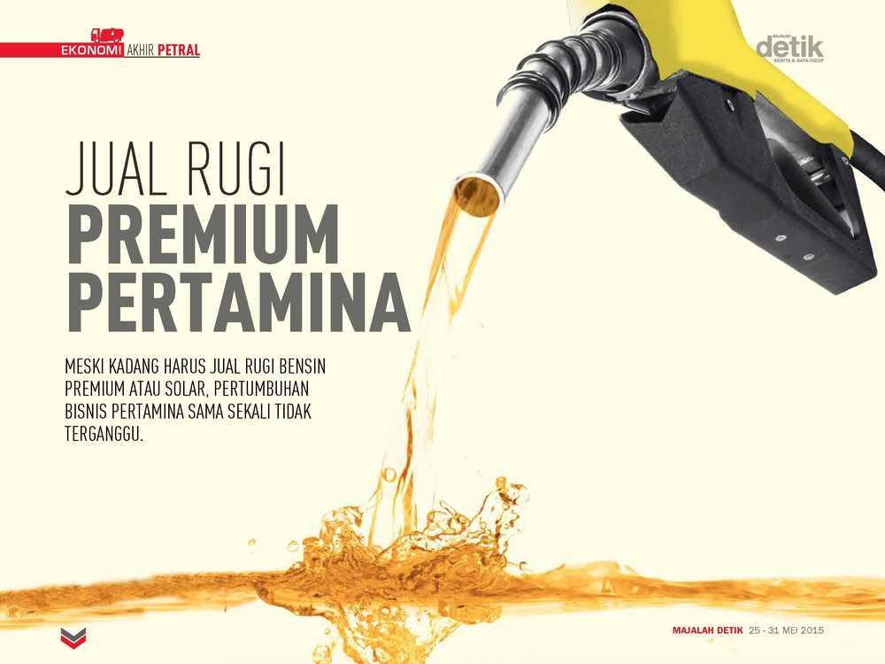Jual Rugi Premium Pertamina