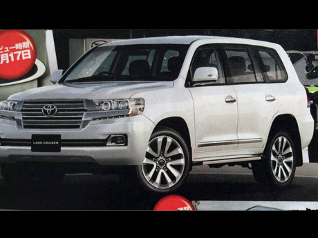 Diluncurkan Awal 2016, Begini Tampilan Toyota Landcruiser Anyar