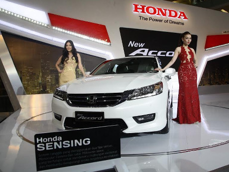 Sedan Honda Accord Kian Canggih