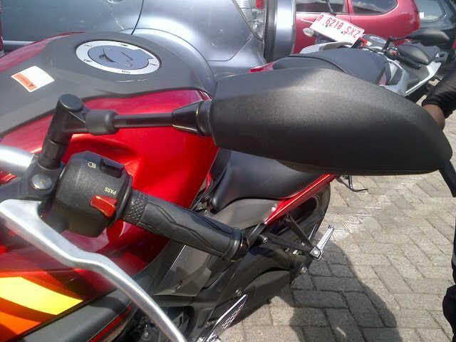 Desain Baru, Spion Yamaha MT 25 Lebih Aman