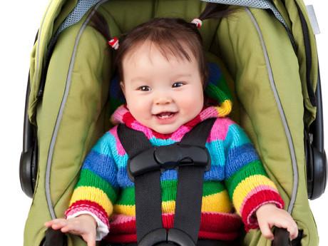 Awas, Child Seat Mengandung Senyawa Kimia Berbahaya