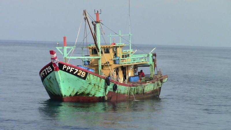 1 Kapal Pencuri Ikan Asal Malaysia Ditangkap, Ini Penampakannya