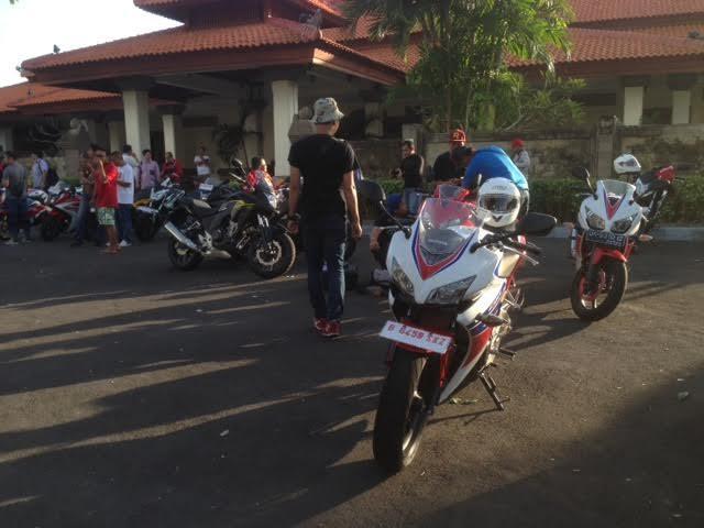 10 Pembeli Pertama Moge Honda Langsung Jajal Performa Motor di Bali-Lombok