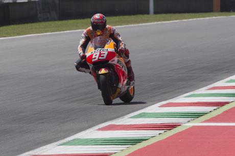 Marquez Tercepat, Honda Kuasai Sesi Pertama