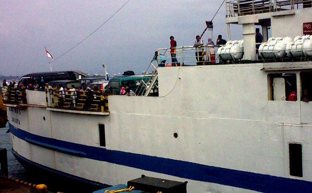 Jalur Merak-Bakauheni Punya 3 Kapal Baru untuk Tol Laut