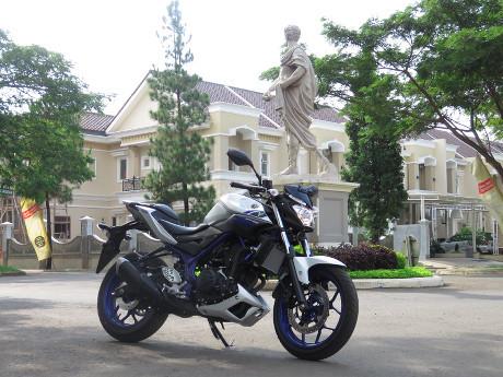 Membuktikan Ketangguhan Raja Bermanuver, Yamaha MT-25