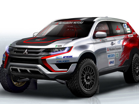 Mitsubishi Siapkan Outlander PHEV Berlaga di Reli Baja Portalegre 500?
