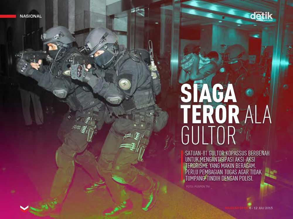 Siaga Teror ala Gultor