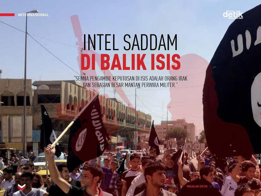 Intel Saddam di Balik ISIS