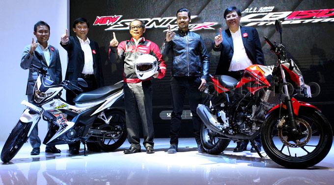 Honda Luncurkan CB150R Terbaru dan Sonic 150R