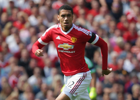 chris smalling 2015