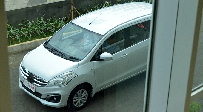 Inikah Suzuki Ertiga Model Anyar?
