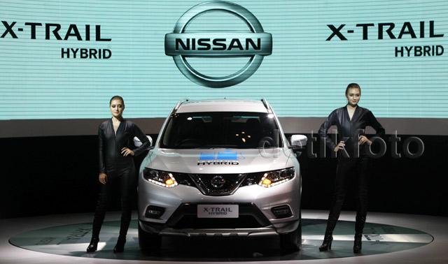 Nissan Perkenalkan All New Nissan X-Trail versi hybrid