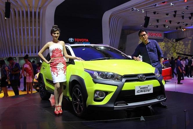 Toyota Bikin Yaris Versi Crossover dan Atap Terbuka