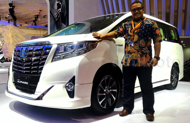 Alphard Hybrid, MPV Mewah Seharga Rp 1,3 Miliar