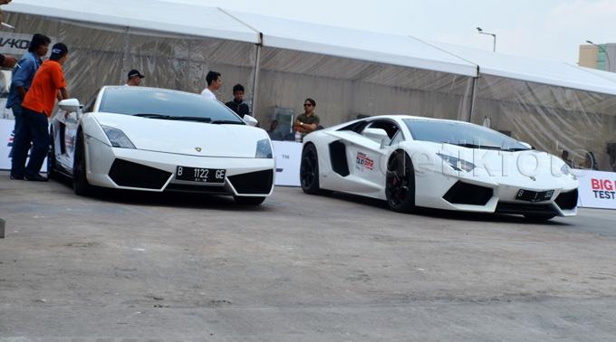 Cihuy, Naik Taksi Lamborghini