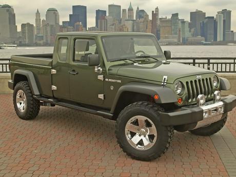 Jeep Wrangler Pikap Siap Diproduksi