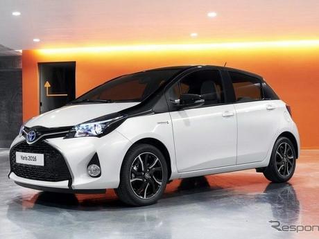 Toyota Yaris Dual Tone