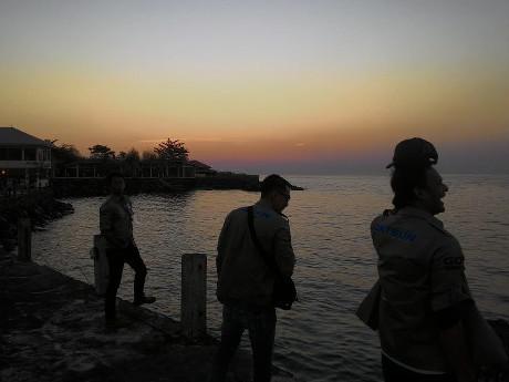 Menikmati Sunset di Kalasey, Minahasa