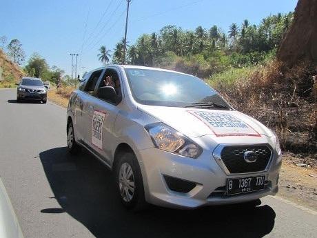 Ini Komentar Risers Setelah Menguji Datsun GO+ Panca dari Manado-Gorontalo