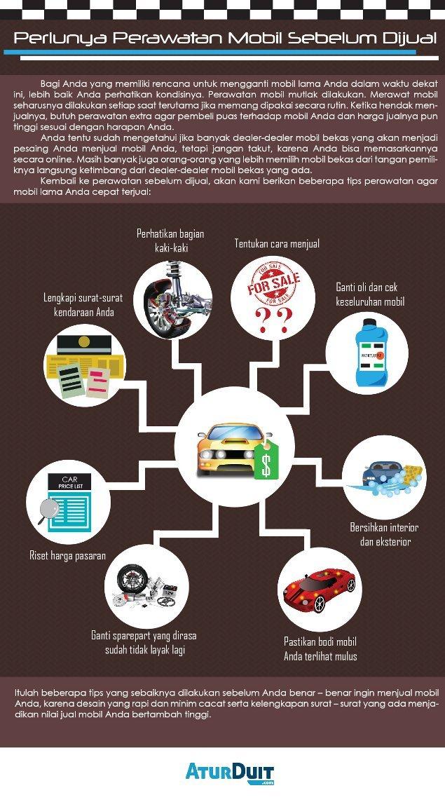 Perlunya Perawatan Mobil Sebelum Dijual