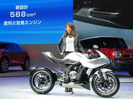 Suzuki Isyaratkan Segera Produksi Konsep Motor Berturbo