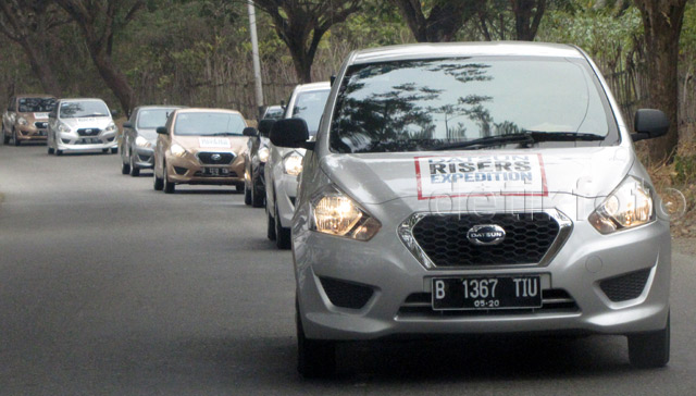 Datsun Risers Expedition Tuntaskan Perjalanan Palu-Toraja