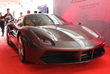 Ferrari: 488 GTB Lebih Dahsyat dan Ramah Lingkungan