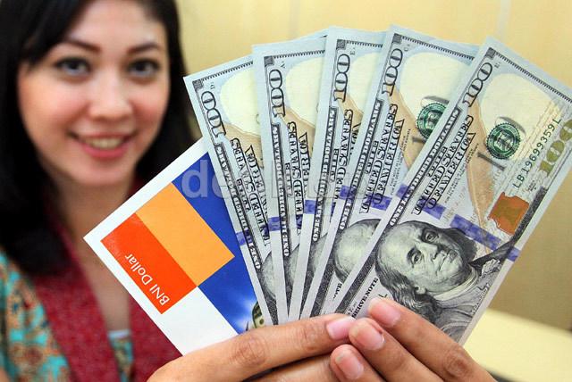 Dolar AS Pagi Ini Rp 14.695
