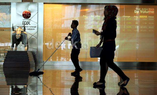 IHSG Terseret Koreksi Pasar Asia, Turun 11 Poin