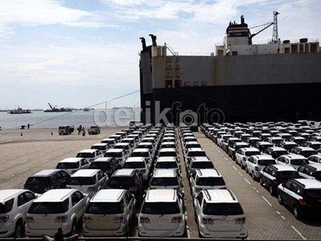 Dalam 8 Bulan, Ekspor Toyota Indonesia Sudah Capai 70% Target