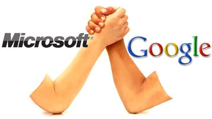 Google dan microsoft akhirnya berdamai soal paten