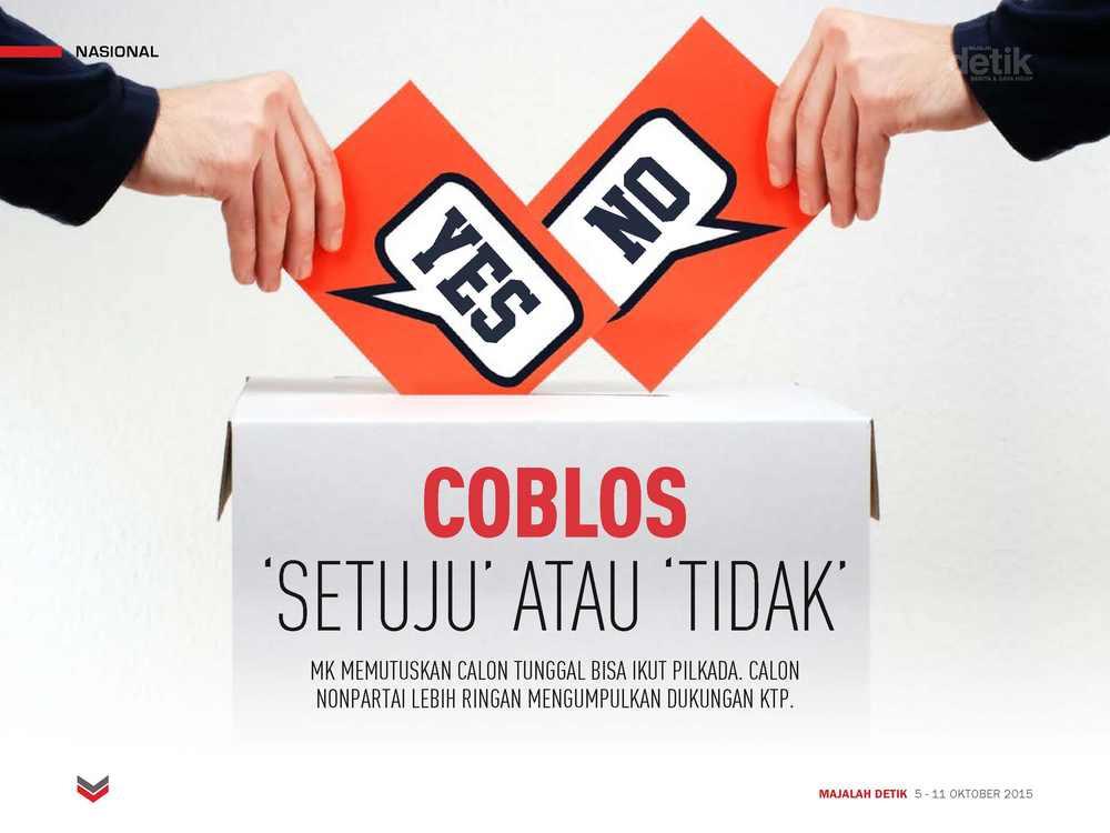 Coblos Setuju atau Tidak