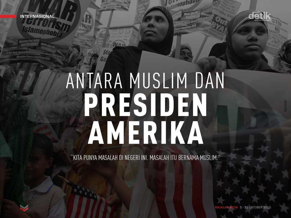 Antara Muslim dan Presiden Amerika