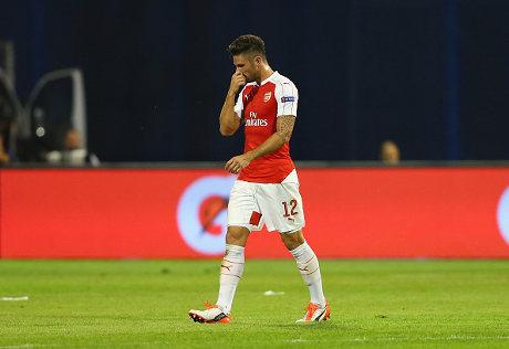 Giroud Tak Mau Lama-lama Jadi Pilihan Kedua Wenger