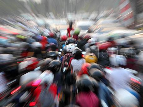 Indonesia Sudah Darurat Sepeda Motor