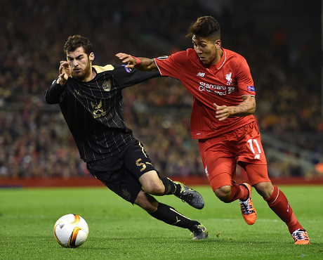 Liverpool Ditahan Imbang 10 Pemain Rubin Kazan