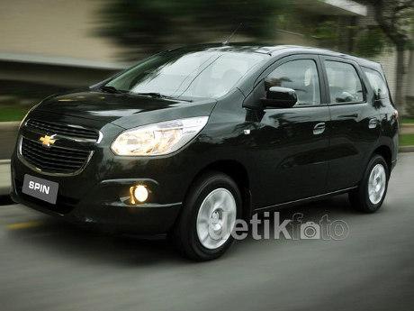 GM: Animo Orang Indonesia Terhadap Chevrolet Spin Masih Tinggi