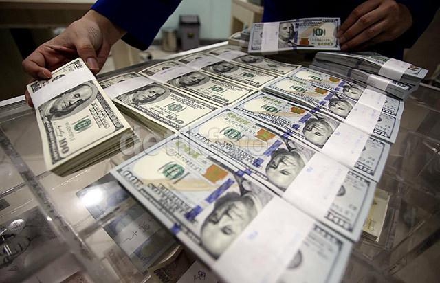 Dolar AS Pagi Ini Tertinggi di Rp 13.633