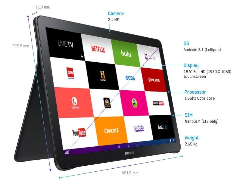 Ini Tablet Raksasa Pesaing iPad Pro dari Samsung