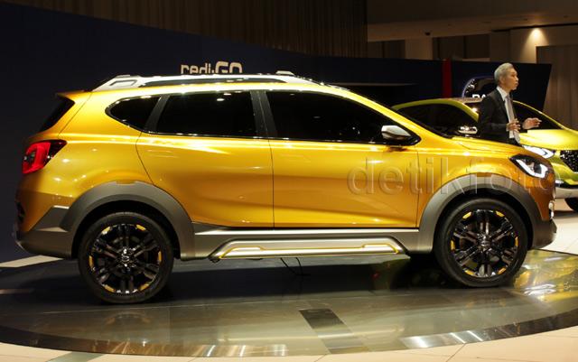 Konsep Crossover Datsun GO-cross Tampil Perdana