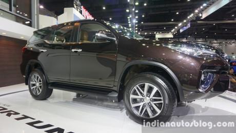 Generasi Terbaru Toyota Fortuner Meluncur di India Akhir 2016