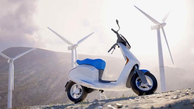 Motor Listrik Futuristik Belanda