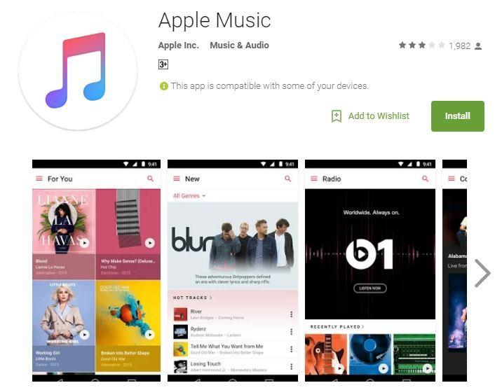 Apple Music Akhirnya Tiba di Android