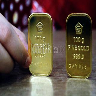 Harga Emas Hari Ini Tetap Rp 549.000/Gram