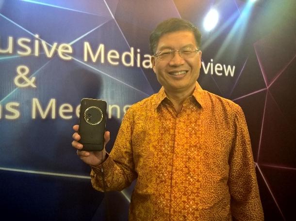 CEO Asus Janjikan Ponsel 4G Murah di Indonesia