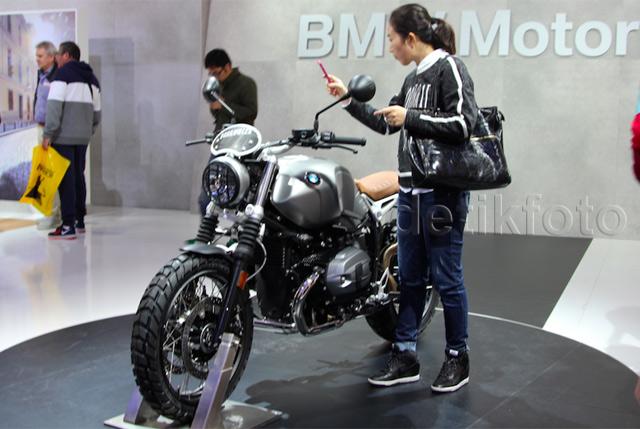 Motor Scrambler Milik BMW
