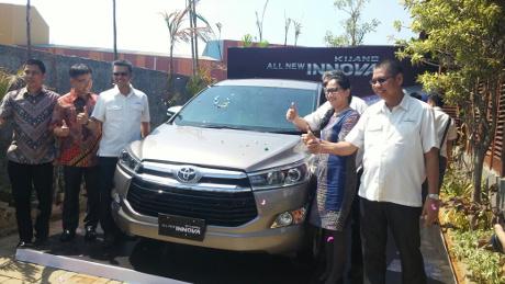 All New Kijang Innova Mengaspal di Makassar