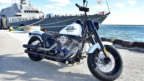 Ini Harley-Davidson Khusus, Bergaya ala Angkatan Laut Amerika